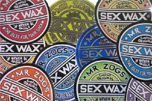 sex wax stickers 3' - 7'