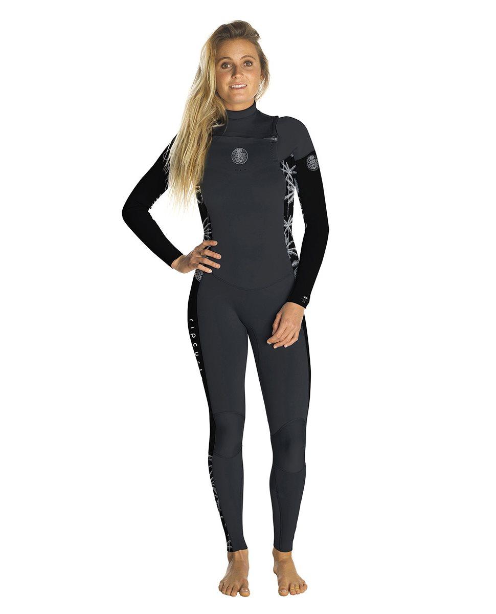 Rip Curl Dawn Patrol 3 2 Chest Zip - Women s Wetsuit - Puravida ... 644e0a256a9c