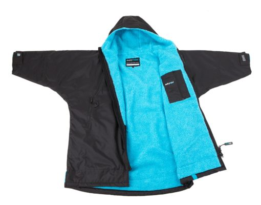 Dryrobe Black Blue